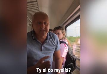 HANBA AKO HROM: Agresívny Slovák zbil nevinné cudzinky vo vlaku. Nebudete veriť vlastným očiam