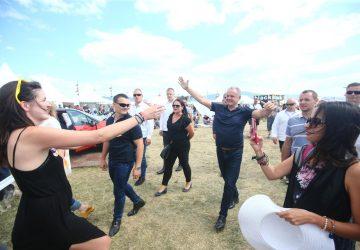 Na Pohode bol aj Andrej Kiska. Fotku s ním chcelo mnoho ľudí