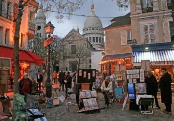 Parížskym maliarom hrozí, že budú musieť zložiť stojany a uvoľniť miesto rozpínajúcim sa kaviarňam