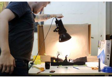 David Reeves a ohromujúce ručne vyrezávané scény z vašich obľúbených filmov