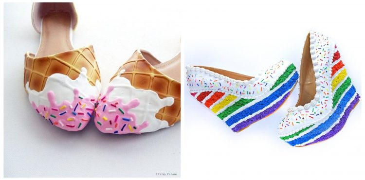 Firma Shoe Bakery skĺbila dve veľké ženské neresti – topánky a sladké. Výsledok? Topánky na zjedenie!