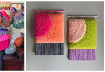 Nástenné tapisérie z farebných nití ako dôkaz toho, že aj steny môžu mať svoj štýl