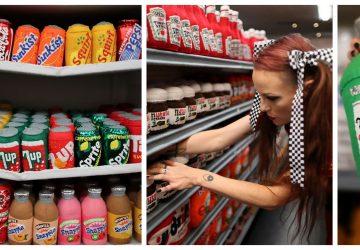 V tomto supermarkete nájdete všetky potraviny. Ich jediná zvláštnosť je, že sú ručne ušité z textilu!
