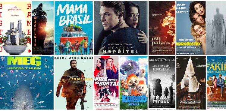 Filmy v auguste: Na čo ísť do kina druhú polovicu prázdnin? Pozrite si prehľad filmových noviniek