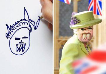 Otec sa rozhodol zreálniť kresby detí. Z nevinného nápadu sa stala instagramová záľuba, na ktorej sa zabáva celý svet!