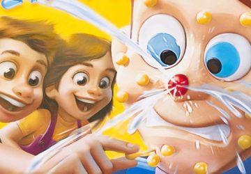 HNUS! Na trhu sa objavila detská hra, ktorej podstatou je vytláčanie vyhnisaných vyrážok