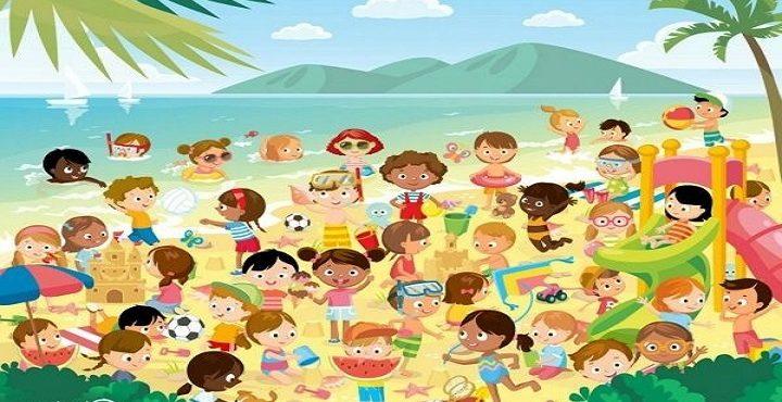 Precvičte svoj zrak: Podarí sa vám nájsť na preplnenej pláži identické dvojčatá?