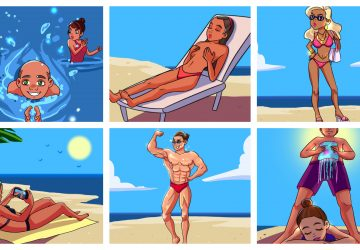 FOTO: 14 typov ľudí, na ktorých narazíte na každej pláži. Ktorý vám lezie najviac na nervy?