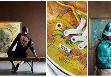 Nosiť na nohách van Goghove Slnečnice? O pár dní si ich (a kadečo iné) budete môcť objednať vďaka spolupráci Van Goghovho múzea so značkou VANS
