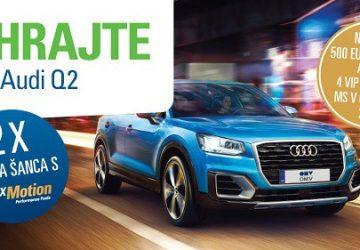OMV prichádza so súťažou: Parádne Audi môže vyhrať každý z nás! Stačí natankovať