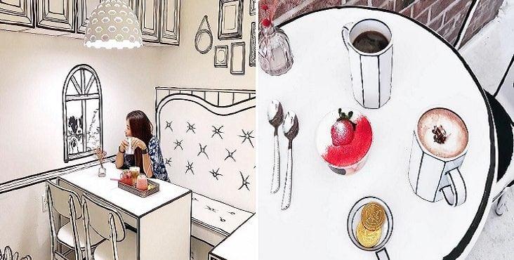 Milujete komiksy a kávu? Táto kaviareň vás prenesie do kresleného sveta