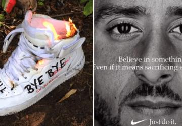 Obrovský protest proti spoločnosti Nike. Ľudia podpaľujú ich produkty a búria sa – viete prečo?