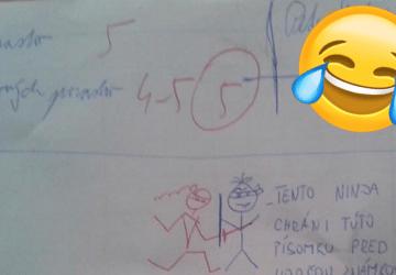 Žiak na písomke nechal vtipný odkaz pre učiteľku. Nečakal však, že zareaguje TAKTO