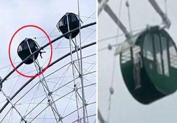 VIDEO: Dráma na kolotočoch! 5-ročnému chlapcovi sa zasekla hlava v konštrukcii a visel vo vzduchu