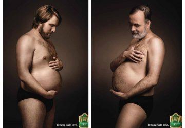 FOTO: Klasické tehotenské fotenia? NUDA! Milovníci piva to posunuli na vyšší level!