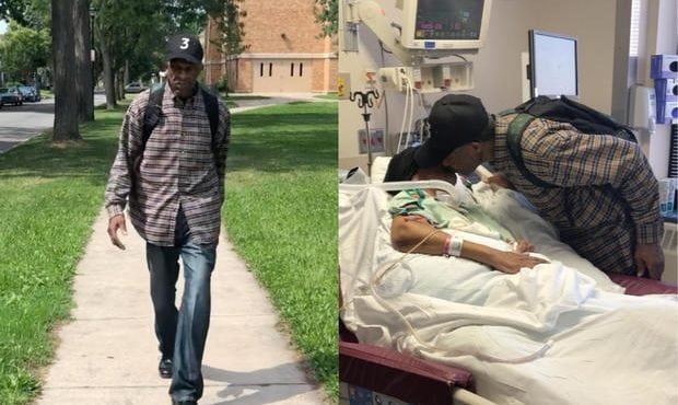 Tento 99-ročný muž každý deň prejde pešo takmer 10 kilometrov, aby videl svoju ženu