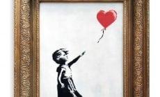 Jedno znajznámejších Banksyho diel sa samo skartovalo na aukcii hneď po tom, ako ho predali
