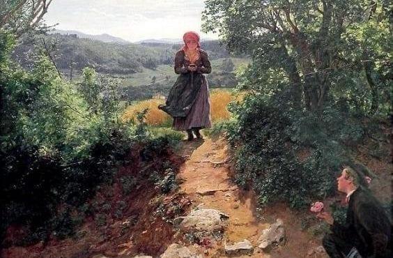 Na obraze starom 150 rokov používa žena smartfón. Prečo?