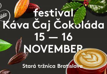 Voňavý Festival Káva Čaj Čokoláda je tu. Prinášame program festivalu