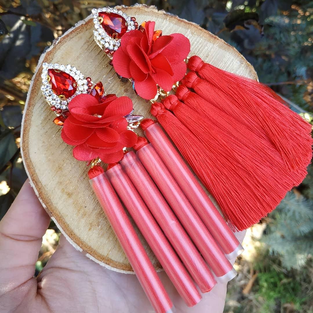handmade náušnice