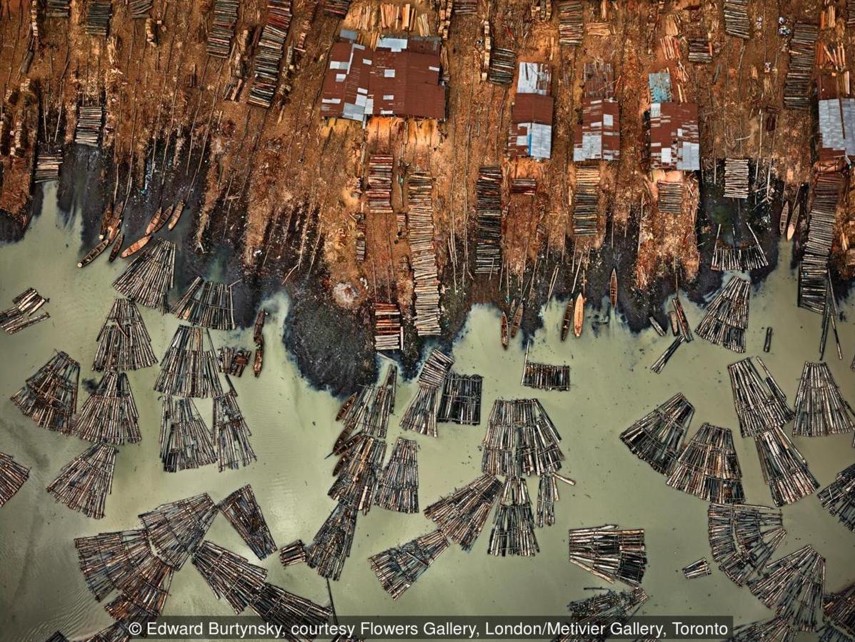 Fotografie toho, ako človek zjazvil našu planétu