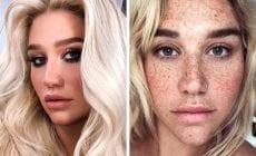 Tieto celebrity vyzerajú bez make-upu fantasticky. Spoznávate ich?