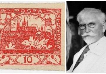 Prvé poštové známky Československa navrhol Alfons Mucha a mali chybu