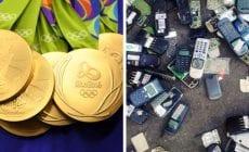 Medaily olympijských hier 2020 budú vyrobené z recyklovaného materiálu