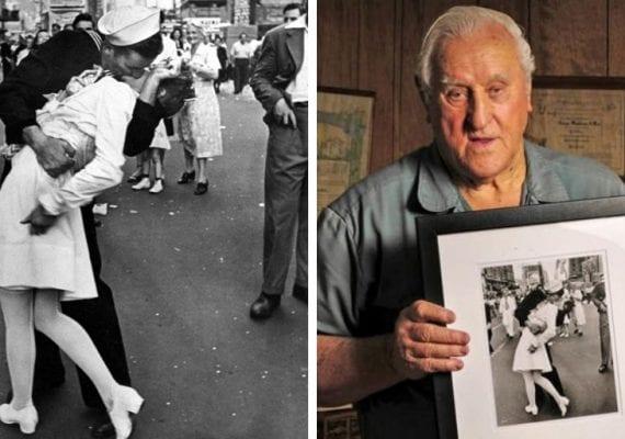 Zomrel bozkávajúci námorník zo slávnej fotografie, ktorá symbolizuje koniec vojny. Jeho identitu potvrdili len nedávno