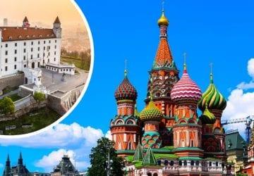 Z Bratislavy do Moskvy každý deň! Letenky sú dostupné za pár eur