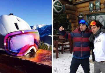 Pri lyžovačke nezabúdajte na kvalitné okuliare. Tieto nosia aj známi športovci a herci
