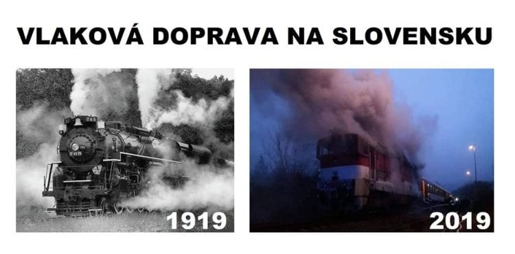 Top 15 memečiek o horiacich vlakoch, ktoré ťa doslova zahrejú pri srdci