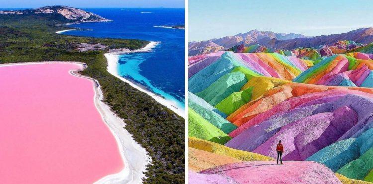 Zábery vyrážajúce dych dokazujú, že planéta Zem je tá najlepšia umelkyňa