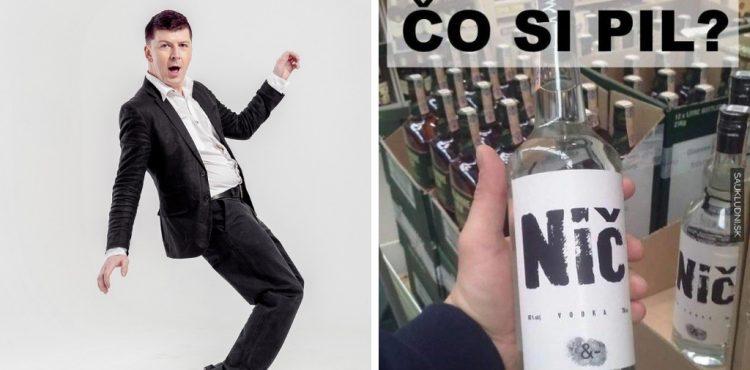 Vodka Nič – keď sa spojí známy liehovar a moderátor Andrej Bičan