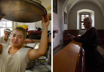 FOTO: Opustené deti a mnísi v Podolínci obývajú spoločný komplex. Fotografi vytvorili silný sociálny dokument