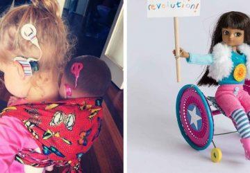 Prostredníctvom bábiky s hendikepom sa snažia podporiť dobrú vec. Pridáte sa?