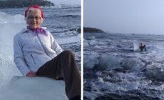 Babička na Islande sa posadila na ľadovec. Netušila, že ju vlny odplavia preč. Ako to dopadlo?