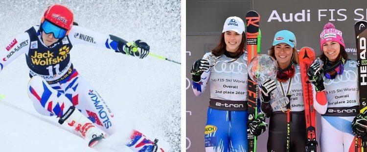 Petra Vlhová má za sebou životnú sezónu: na začiatku ju diskvalifikovali, teraz je druhou najlepšou na svete