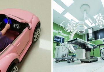 Autom priamo do operačnej sály: takýto príchod pacienta ste ešte nevideli