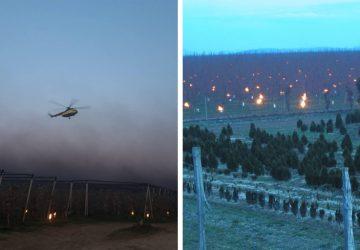 V noci horelo aj na Slovensku! Poľnohospodári pri Piešťanoch zachraňujú úrodu
