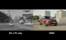Za 3 minúty sa dnes vyrobí rovnaký počet áut ako kedysi za jeden deň: SEAT vo videu porovnáva výrobu s minulosťou