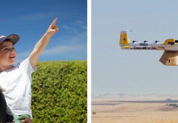 Google spustí prvú doručovaciu službu dronom! Donesú vám kávu a zmrzlinu