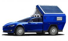 S Teslou do kempu? Model Roamer bude najrýchlejšie obytné vozidlo na svete