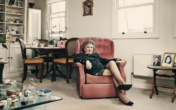 90-ročná prostitútka Zdroj: Marlow Stern twitter.com/