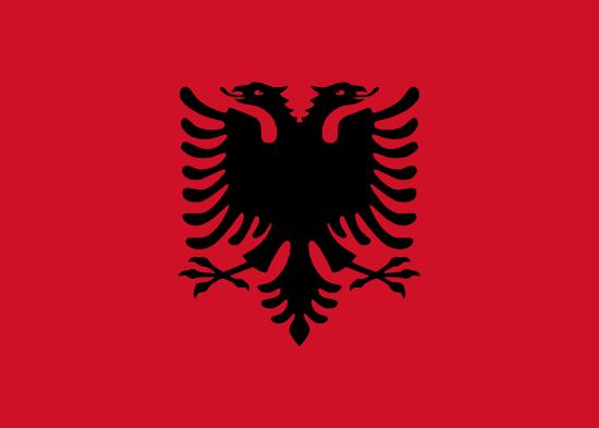 Albánsko Kvíz vlajky - klocher.sk